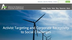 Thumbnail for Alliance for Research on Corporate Sustainability